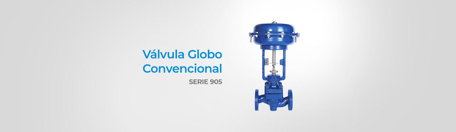 Válvula Globo Convencional (Serie 905)